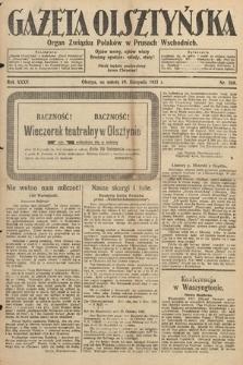 Gazeta Olsztyńska : organ Związku Polaków wPrusach Wschodnich. 1921, nr268