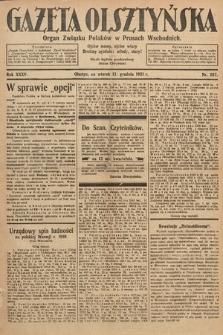 Gazeta Olsztyńska : organ Związku Polaków wPrusach Wschodnich. 1921, nr287