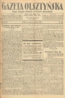 Gazeta Olsztyńska : organ Związku Polaków wPrusach Wschodnich. 1921, nr288