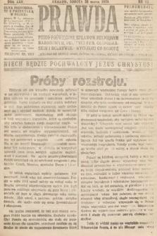 Prawda : pismo poświęcone sprawom religijnym, narodowym, politycznym, gospodarskim i rozrywce. 1920, nr12