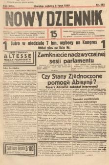 Nowy Dziennik. 1935, nr183