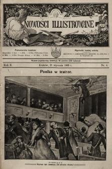 Nowości Illustrowane. 1905, nr4