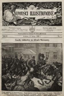Nowości Illustrowane. 1905, nr7