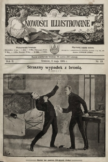 Nowości Illustrowane. 1905, nr19