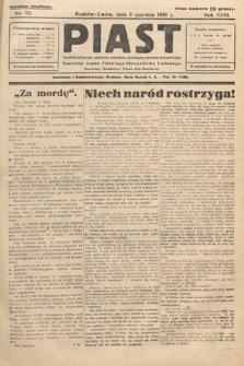 Piast : tygodnik polityczny, społeczny, oświatowy, poświęcony sprawom ludu polskiego : Naczelny organ Polskiego Stronnictwa Ludowego. 1930, nr23
