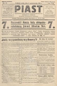 Piast : tygodnik polityczny, społeczny, oświatowy, poświęcony sprawom ludu polskiego : Naczelny organ Polskiego Stronnictwa Ludowego. 1930, nr42
