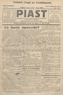 Piast : tygodnik polityczny, społeczny, oświatowy, poświęcony sprawom ludu polskiego : Naczelny organ Polskiego Stronnictwa Ludowego. 1931, nr6