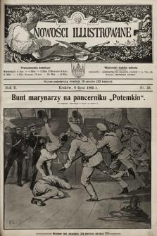 Nowości Illustrowane. 1905, nr28