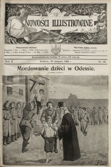 Nowości Illustrowane. 1905, nr35