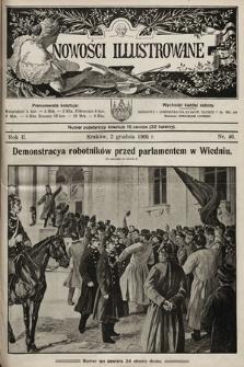 Nowości Illustrowane. 1905, nr49