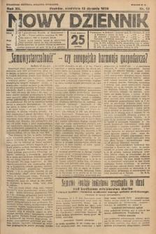 Nowy Dziennik. 1929, nr13