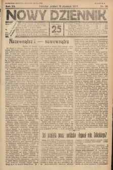 Nowy Dziennik. 1929, nr18