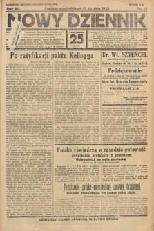 Nowy Dziennik. 1929, nr21