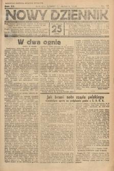 Nowy Dziennik. 1929, nr22