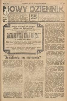 Nowy Dziennik. 1929, nr30