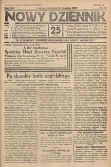Nowy Dziennik. 1929, nr31