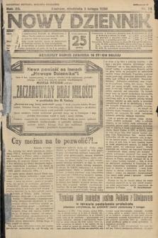 Nowy Dziennik. 1929, nr34