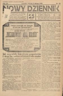 Nowy Dziennik. 1929, nr35