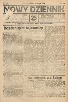 Nowy Dziennik. 1929, nr39