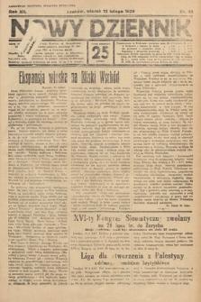 Nowy Dziennik. 1929, nr42