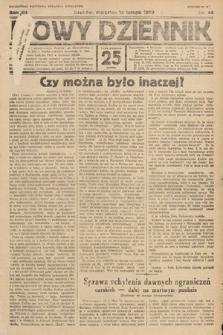 Nowy Dziennik. 1929, nr44