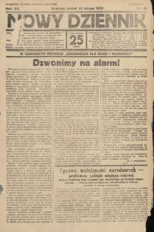Nowy Dziennik. 1929, nr45