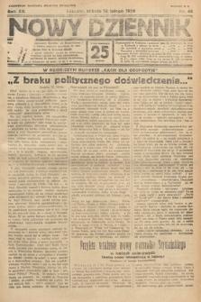 Nowy Dziennik. 1929, nr46