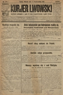Kurjer Lwowski. 1919, nr274