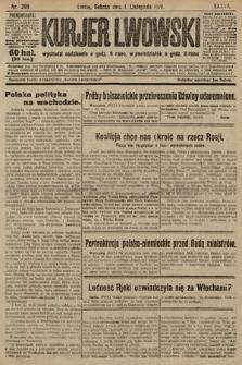 Kurjer Lwowski. 1919, nr299