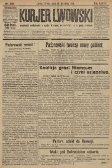 Kurjer Lwowski. 1919, nr336