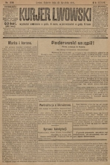 Kurjer Lwowski. 1919, nr339