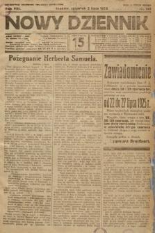 Nowy Dziennik. 1925, nr145