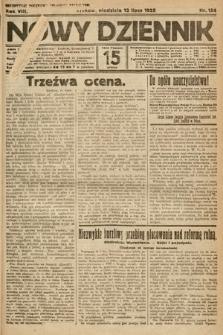 Nowy Dziennik. 1925, nr154