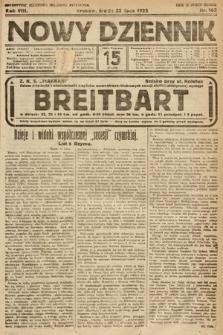 Nowy Dziennik. 1925, nr162