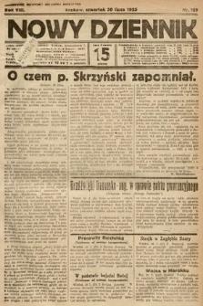 Nowy Dziennik. 1925, nr169