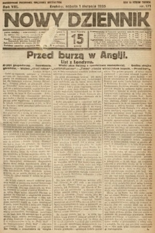 Nowy Dziennik. 1925, nr171