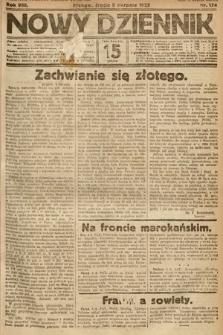 Nowy Dziennik. 1925, nr174