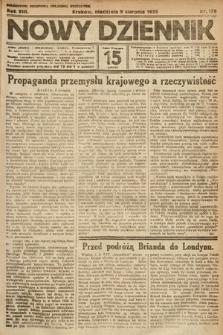 Nowy Dziennik. 1925, nr178