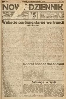Nowy Dziennik. 1925, nr180