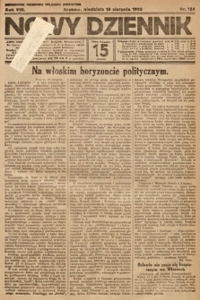 Nowy Dziennik. 1925, nr184