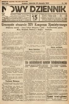 Nowy Dziennik. 1925, nr186