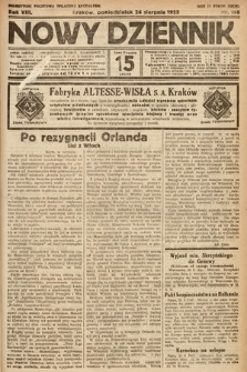 Nowy Dziennik. 1925, nr190