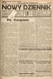 Nowy Dziennik. 1925, nr198