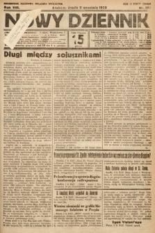 Nowy Dziennik. 1925, nr203