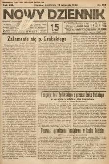 Nowy Dziennik. 1925, nr207