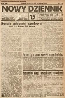 Nowy Dziennik. 1925, nr214