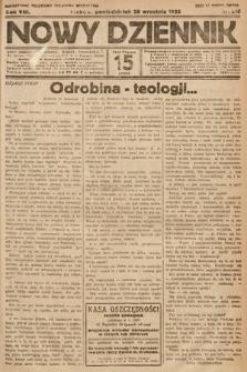 Nowy Dziennik. 1925, nr218