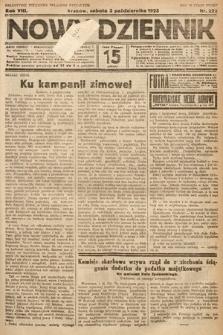 Nowy Dziennik. 1925, nr222