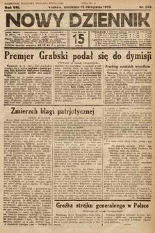 Nowy Dziennik. 1925, nr255