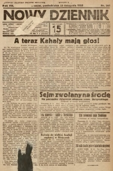 Nowy Dziennik. 1925, nr262